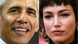Obama se anima a bailar con Úrsula
