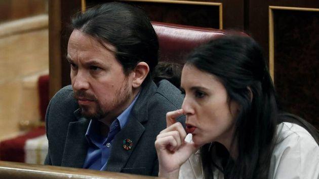 Pablo Iglesias e Irene Montero en una imagen de archivo en el