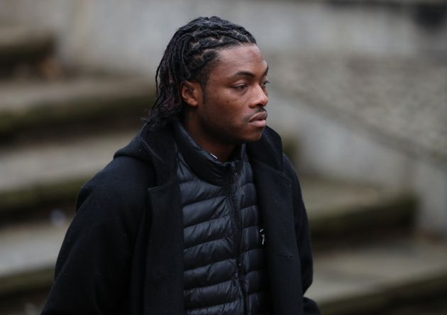 Ceon Broughton arrives at Winchester Crown Court where he is charged in connection with the death of...