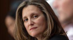 Chrystia Freeland Named Canada's New Finance