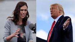 Jacinda Ardern responde a las críticas de Trump por el aumento de casos en Nueva
