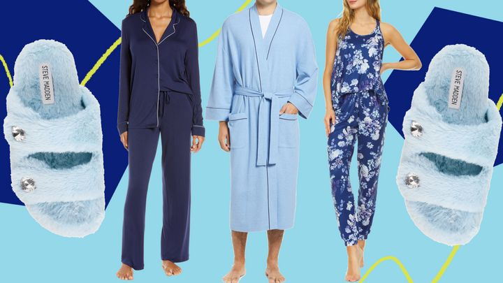 You can kick back and relax at home with the loungewear we found lying around on sale at Nordstrom.