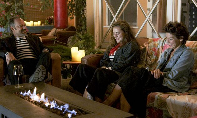 Gil Bellows, Ava Bellows and Rya Kihlstedt in a scene from