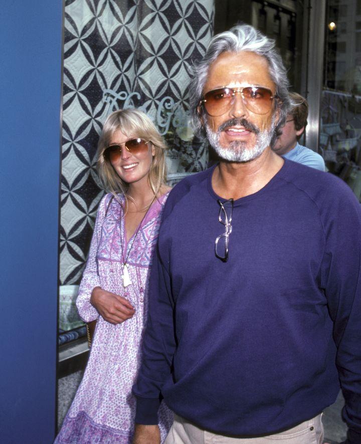 Bo Derek and John Derek in New York City on July 22, 1981.
