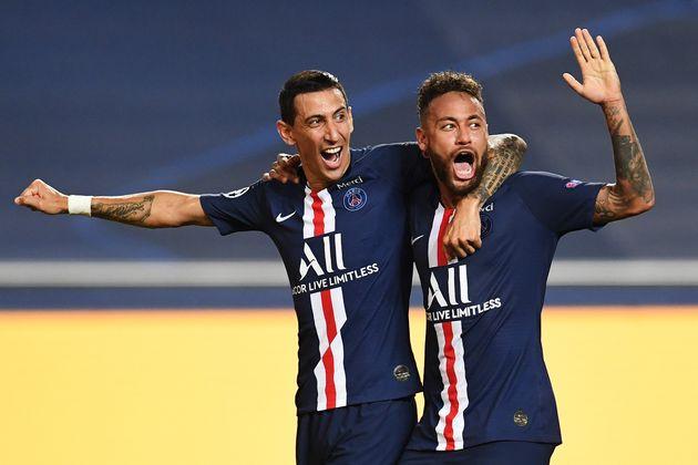Angel Di Maria, de retour après une suspension, et Neymar, ont été cruciaux dans...