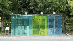 일본 공원에 투명 공중화장실이 생긴 이유