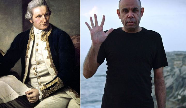 What's This Then? Steven Oliver Challenges Australia's Blurred Vision Of Captain Cook With New Documentary