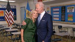 """""""Joe farà per le vostre famiglie quello che fa per la sua"""". Biden incoronato dalla moglie"""
