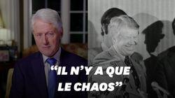 Les anciens présidents Clinton et Carter vedettes de la 2e soirée de la convention