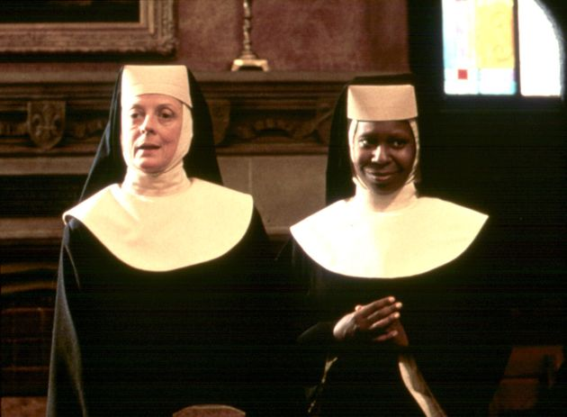 Maggie Smith appeared alongside Whoopi as Mother