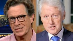 Stephen Colbert Points Out The Irony Of Bill Clinton's DNC Attack On
