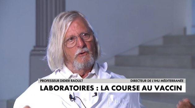Sur CNews, Didier Raoult a dénoncé une