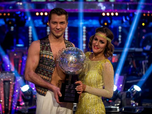 Caroline Flack won Strictly Come Dancing in 2014 with partner Pasha