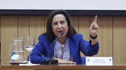 Margarita Robles señala a Podemos y afea las descalificaciones a los