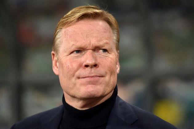 El entonces entrenador de Holanda Ronald Koeman, el 13 de octubre de 2019 durante el partido de clasificación...