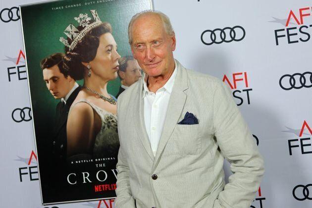 Desde que dejó 'Juego de Tronos', Charles Dance ha interpretado a Louis Mountbatten en la serie de Netflix'The