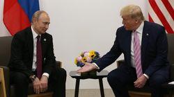 """""""¡Soy muy fan tuyo!"""": las surrealistas cartas de Trump a Putin en"""