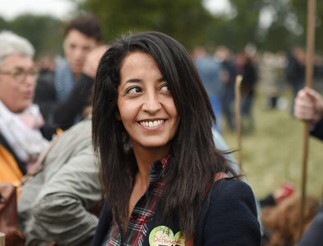 Karima Delli, eurodéputée EELV, ici en 2016 à Notre-Dame des