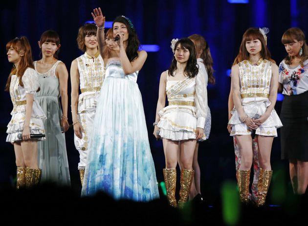 2013年8月22日に東京ドームで行われた卒業セレモニー