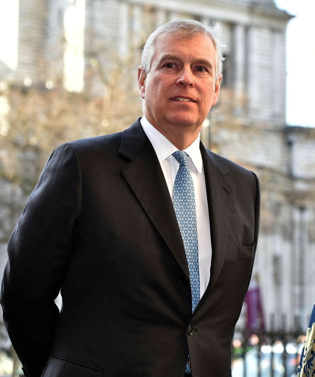 Prince Andrew, pictured in