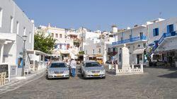 Μύκονος: Εντοπίστηκαν «πειρατικά» vip ταξί με «χρυσές»