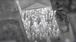 Βίντεο: Ελικόπτερο της αστυνομίας εντόπισε ξέφρενο κορονοπάρτι με 200