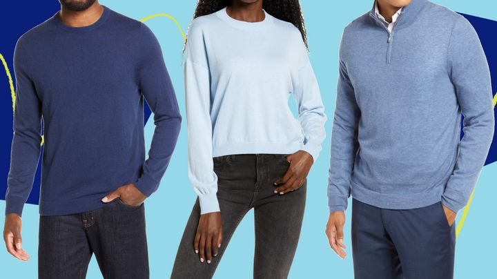 Sweater weather's almost here— so you might stock up on sweaters that are on sale.