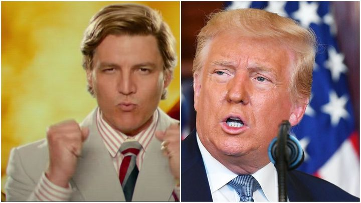 Pedro Pascal vs. Donald Trump: Who wore it better?