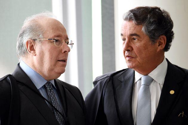 Celso de Mello e Marco Aurélio Mello são os dois ministros da Corte que se aposentam até