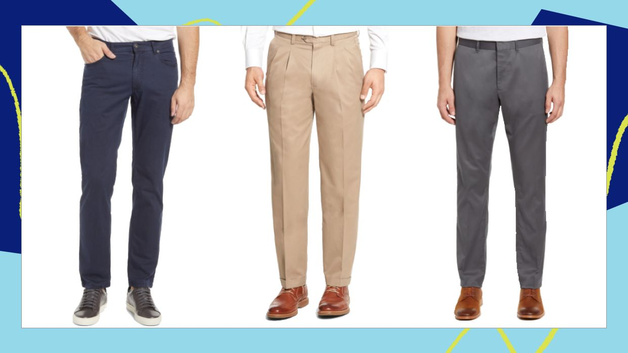 There Are Lots Of Comfortable Men's Dress Pants In Nordstrom's Anniversary Sale