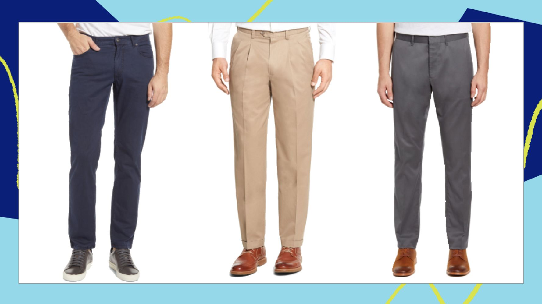 There Are Lots Of Comfortable Men's Dress Pants In Nordstrom's Anniversary Sale 1