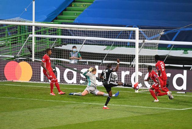 À la 17e minute de la demi-finale de Ligue des Champions contre le Bayern Munich, l'attaquant...