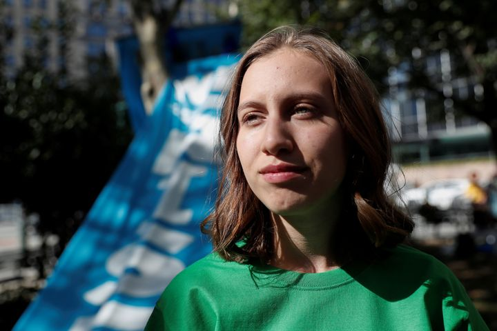 Alexandria Villaseñor, 15, is an ally of famed climate activist Greta Thunberg. She'll address the Democratic Na