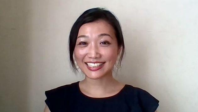 インタビューに答える太田啓子弁護士