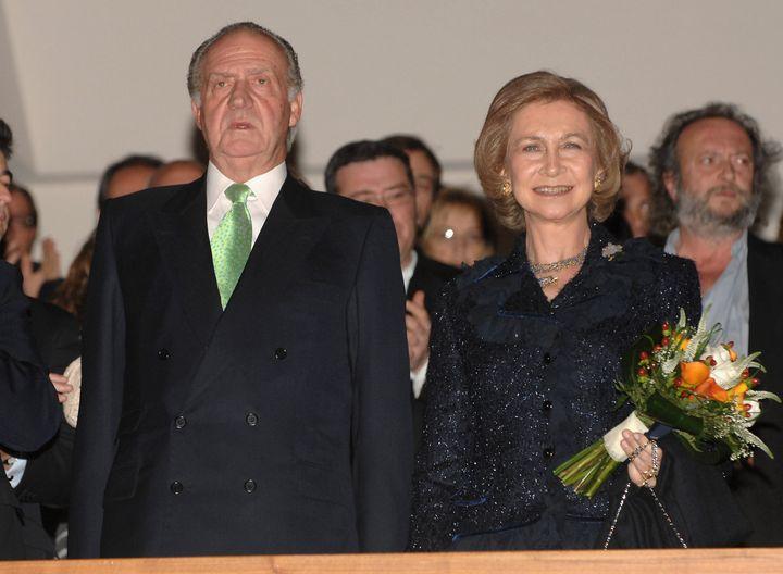 Los reyes eméritos Juan Carlos I y Sofía en 2007.