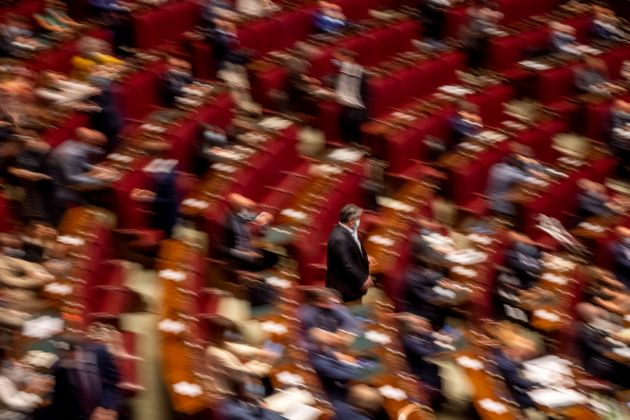 ROME, ITALY - JULY 29: A general view of the Camera dei Deputati (Chamber of Deputies) during the debate...