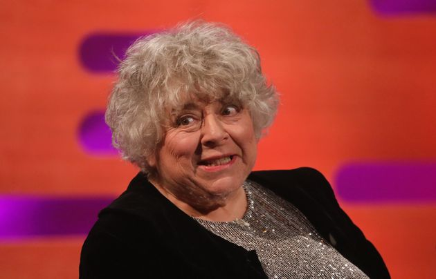 Miriam during one of her infamous appearances on The Graham Norton