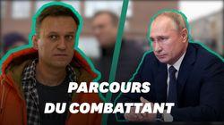 Comment Navalny est devenu le principal opposant de Poutine avant son