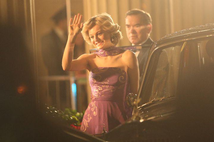 La actriz Emma Corrin como Lady Di en 'The Crown'. 02/03/2020