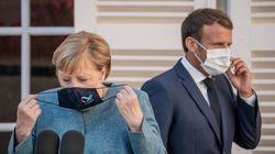 Μήνυμα Μακρόν- Μέρκελ: Δεν θα αποδεχθούμε επιθέσεις στην κυριαρχία μελών της