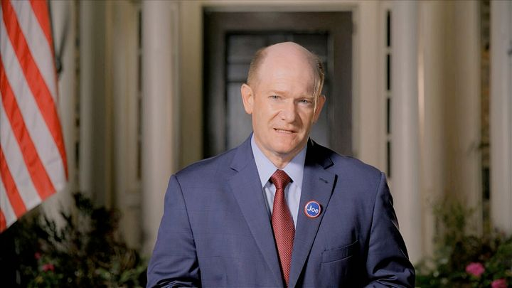 Sen. Chris Coons is a Democratic senator from Delaware and a lifelong Presbyterian.