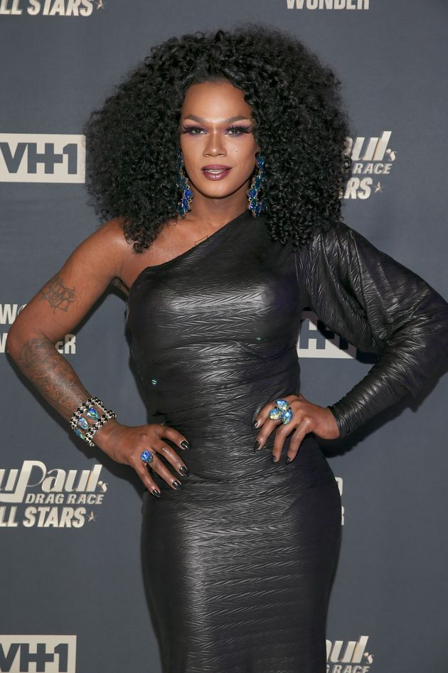 Chi Chi Devayne at a RuPaul's Drag Race All Stars event in