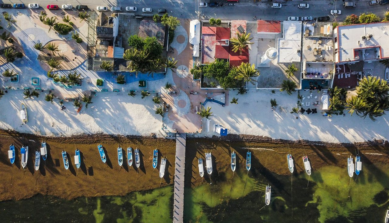Puerto Morelos, a fishing village south of Cancún, is home to one of the most vibrant sections of the Mesoamerican Reef off the Mexican coast.