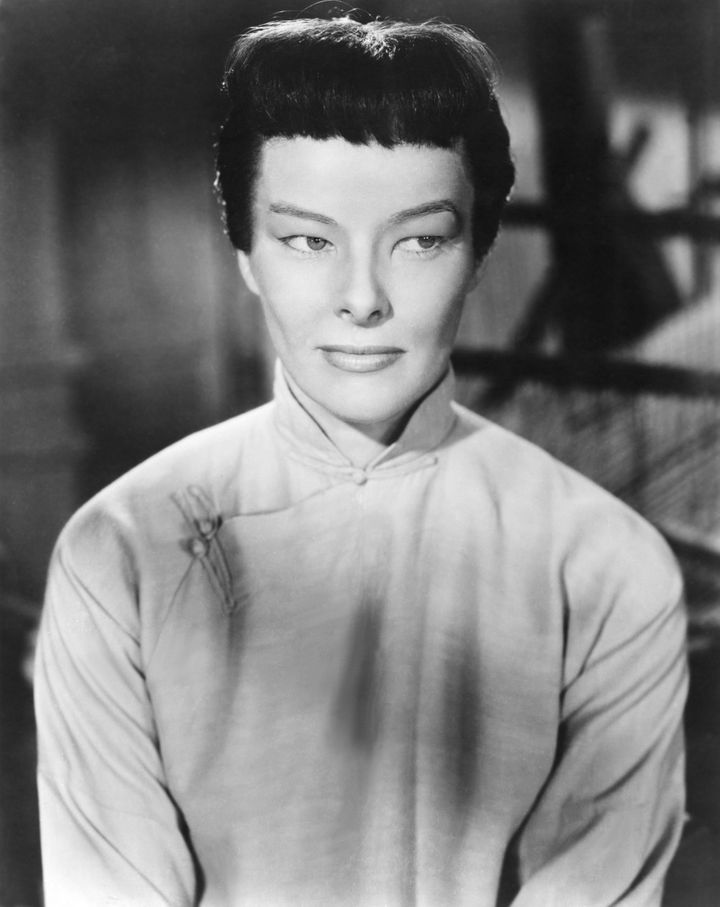 "1944's ""Dragon Seed"" is a prime example of Hollywood's use of yellowface. Actress Katharine Hepburn's eyelids were&nbsp;<a href=""https://books.google.com/books?id=hlC4DwAAQBAJ&amp;pg=PT56&amp;lpg=PT56&amp;dq=%22Jade,%22+Hepburn%27s+eyelids&amp;source=bl&amp;ots=7nRkR1yZKg&amp;sig=ACfU3U0XVFTebLrHrRqFadL99wfPixVIQA&amp;hl=en&amp;sa=X&amp;ved=2ahUKEwj416Xr2azrAhXBGDQIHfhCBcE4FBDoATAFegQIChAB#v=onepage&amp;q=%22Jade%2C%22%20Hepburn's%20eyelids&amp;f=false"" target=""_blank"" rel=""noopener noreferrer"">taped and puttied</a>&nbsp;so she'd appear to be Asian.&nbsp;"