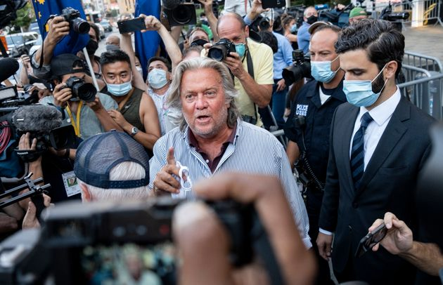 Steve Bannon Charged With Fraud Over 'We Build The Wall'