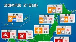 各地で続く猛烈な暑さ、熱中症に厳重警戒を。ゲリラ豪雨・雷雨にも注意