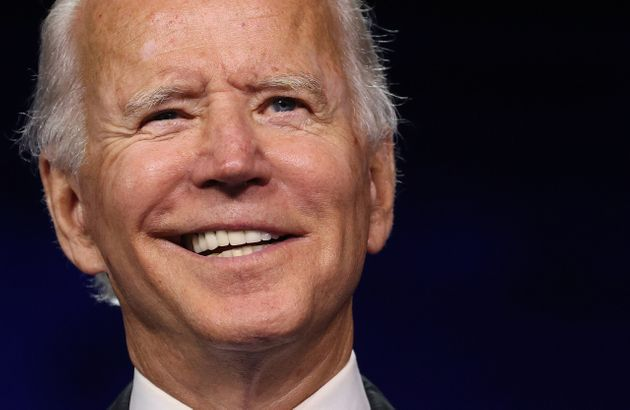 WILMINGTON, DELAWARE - AUGUST 20: Democratic presidential nominee Joe Biden delivers his acceptance speech...