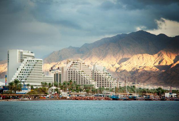 Complejo turístico en Eilat, Israel, donde se produjo la