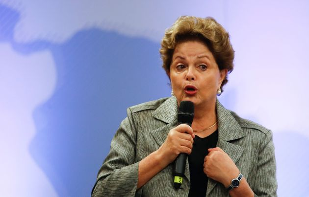 Η Dilma Rousseff (AP Photo/Natacha