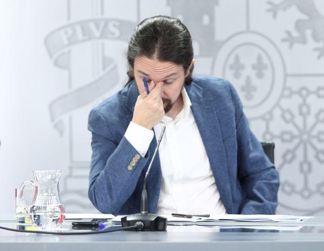 El vicepresidente segundo del Gobierno, Pablo Iglesias, el pasado 7 de julio en